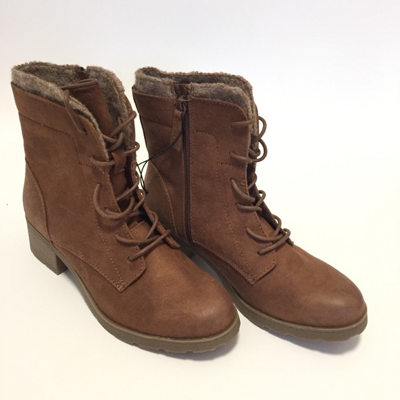 af6a5603f7b Universal Thread Dez Brown Lace Up Hiker Boots